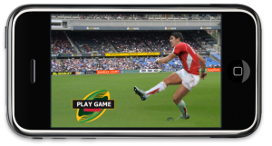New iPhone app called rugby kick